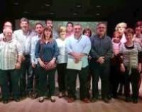Acto de IU de Mancha Real en la Casa de la Cultura con la presentación de su candidatura