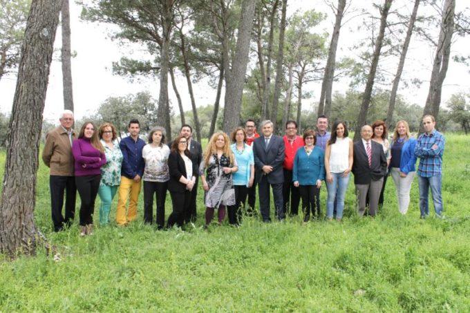 Foto de grupo de la lista para las Elecciones Municipales 2015