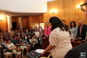 La nueva Alcaldesa jura su cargo
