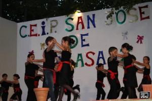 Los niños se divirtieron con sus coreografías