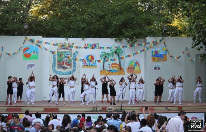 Una de las actuaciones de los alumnos