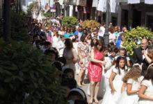 Photo of Gran afluencia y participación en el Corpus Christi 2015 de Mancha Real