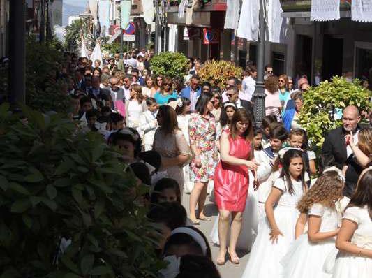 Corpus 2015 pasando por la calle Maestra
