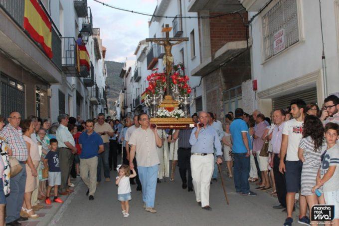 El Cristo de la Yedra por calle La Cruz