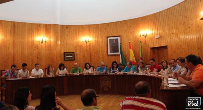 Mesa en el Pleno