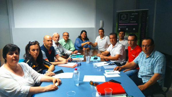 Reunión entre el PP y MRSM