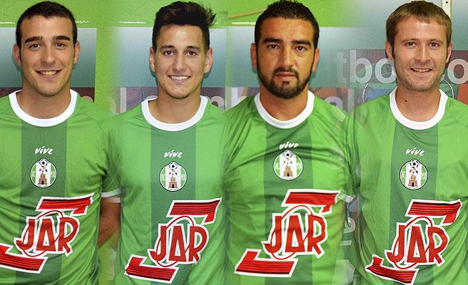 Nuevos jugadores del Atletico Mancha Real