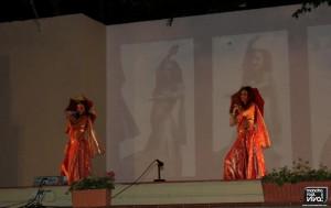 Baile de una de las actuaciones