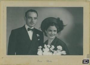 Foto de boda de José Cano y Catalina Jiménez