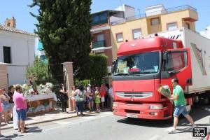 Ofrenda Floral y bendición de vehículos