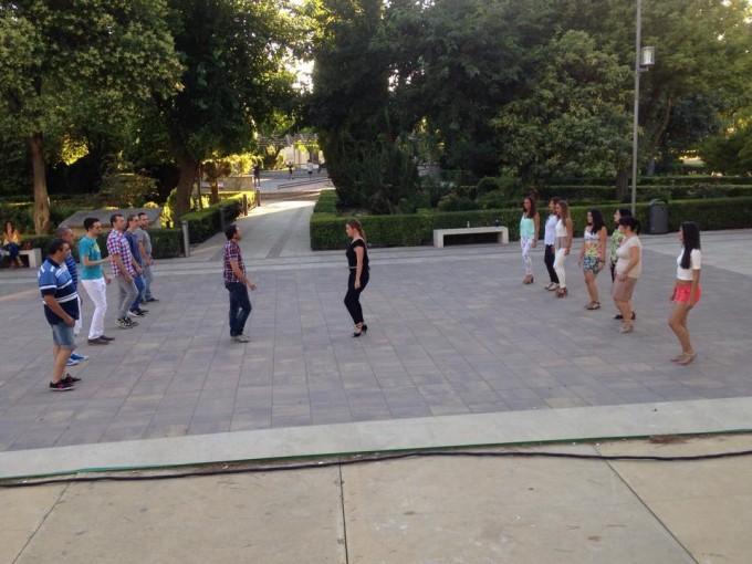 Taller de Kizomba en el Parque Municipal