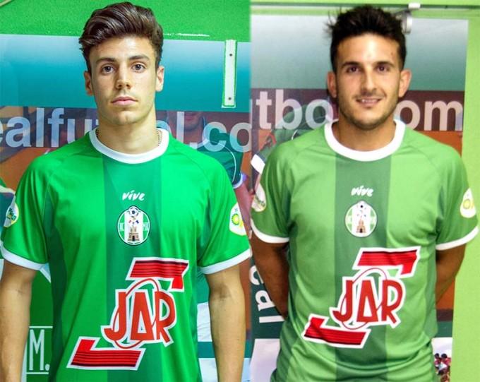Ordoñez y Elady, nuevos refuerzos para la temporada 2015/16 (Fotos: Miguel J. Jiménez).