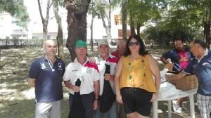 La Alcaldesa y el Concejal de Deportes entregan el premio