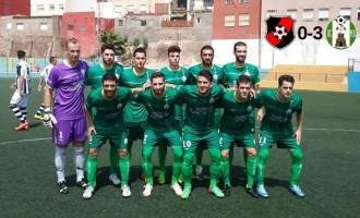Gran debut en el primer partido de la Liga 15/16 frente al River Melilla CF