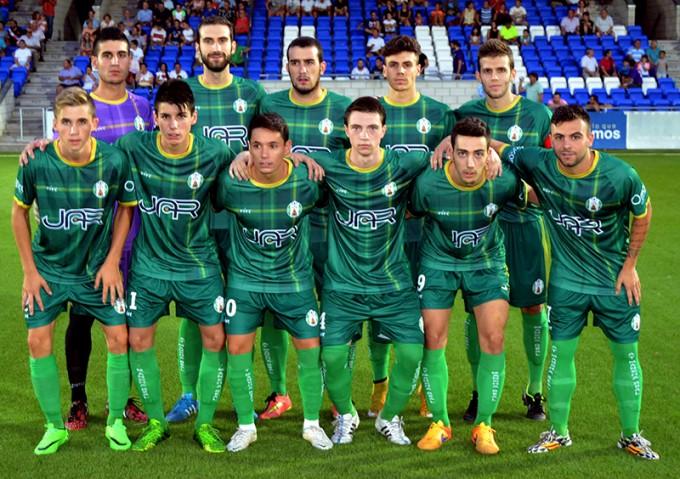 Alineación inicial del Atlético Mancha Real frente al Lucena