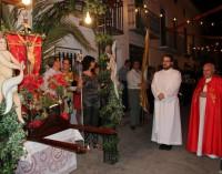 La calle Sancho celebra su tradicional fiesta del Cristo de la Salud 2015