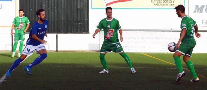 Atlético Mancha Real - Socuéllamos. Foto: Miguel Jiménez.