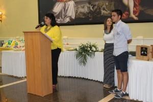 La Alcaldesa M. del Mar Dávila dirigió unas palabras