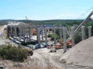 Viaducto sobre el río Guadalquivir
