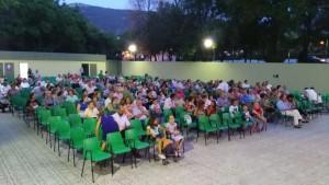 El publico disfrutó con la obra