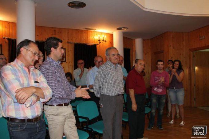 Jose Luis Quero recibe la noticia en el pleno