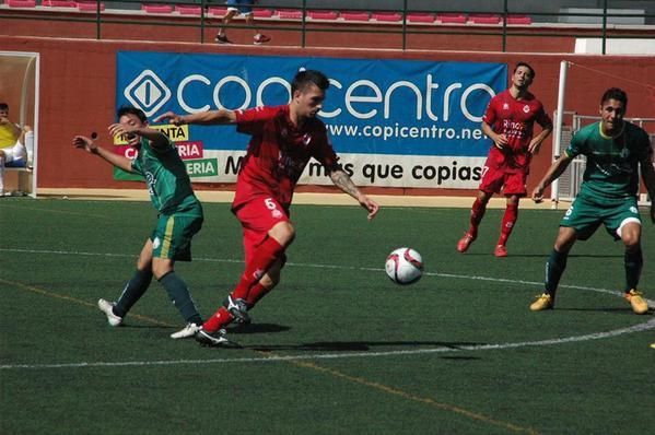 Atlético Mancha Real frente al Rincón de la Victoria.