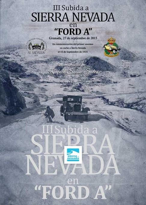 Este fin de semana realizarán la III Subida a Sierra Nevada en Ford A en memoria de Rafael Soria Sales