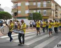 La música charanguera inundó el sábado las calles de Mancha Real