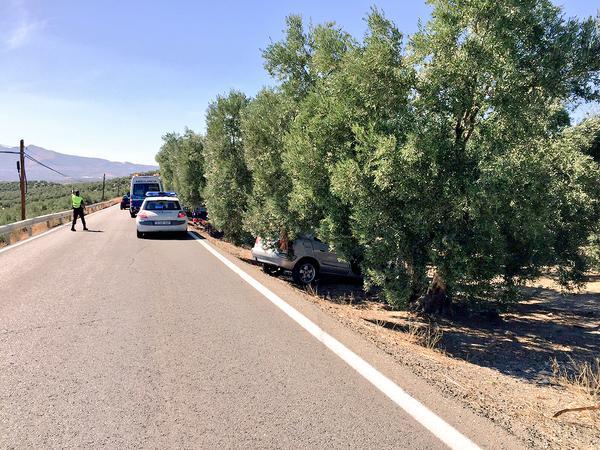 El vehículo se salió de la vía en una zona peligrosa