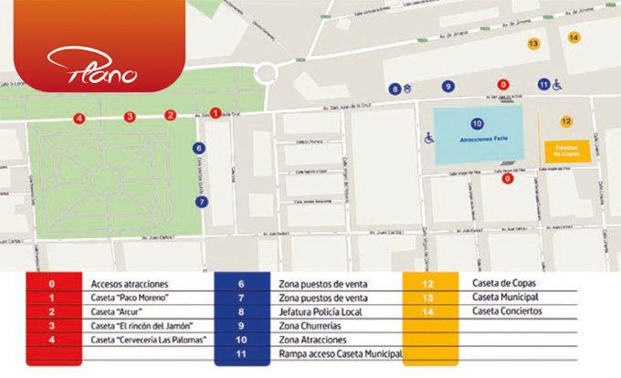 Plano de la Feria 2015