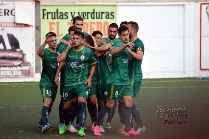 Elady celebra el gol. Foto: La2A_noticias