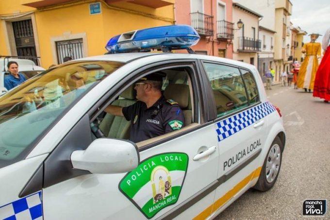 Policia Local durante la cabalgata 2015
