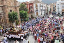 Photo of La procesión de la Virgen del Rosario cierra la Feria de Octubre 2015