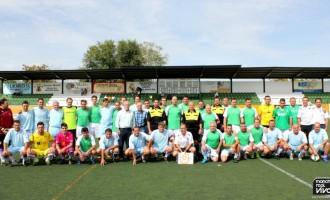 Partido amistoso de feria entre los veteranos del Imperio Azul y Real Jaén