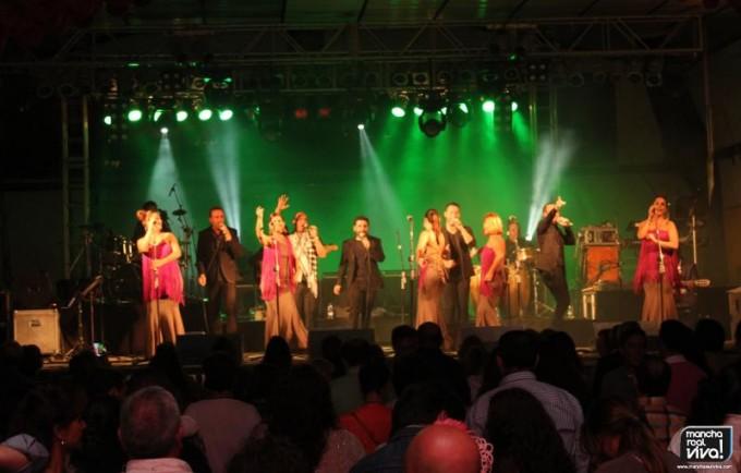 El grupo flamenco despertó una gran expectación