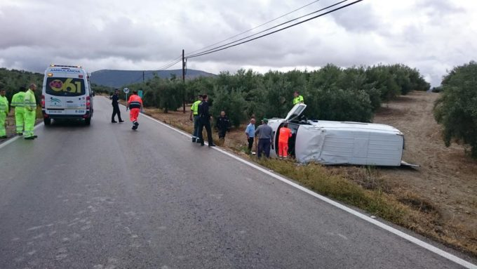 El suceso se produjo en la carretera a320