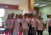 Photo of El rosa llena el Centro de Salud en el Día Mundial Contra el Cáncer de Mama