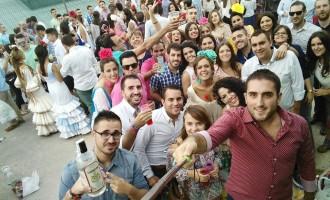 Gran actividad en las redes sociales durante esta Feria de Mancha Real 2015