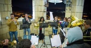 Concierto de Fanfarrias desde el campanario de la Iglesia 2015