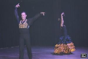 Al baile Angel Cruz y Olga Checa