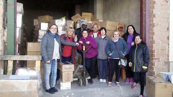 7.000 kilos de alimentos y bienes básicos para los campamentos saharauis