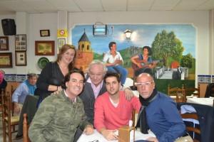 """Pipi Estrada, Sebastian """"El Futy"""" y François Gallardo estuvieron presentes"""