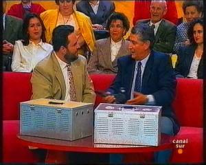 José M. Gutiérrez con Luis Arenas