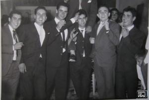 Grupo en una boda
