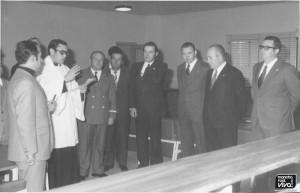 Inauguración de la Casa de la Cultura 1973