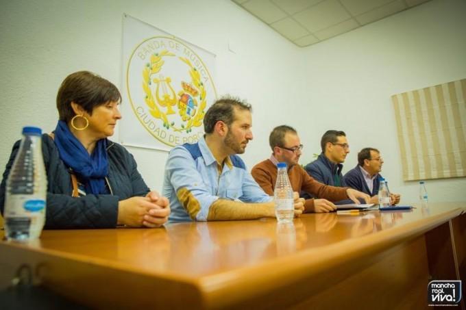 La junta Junta Directiva presenta al nuevo director
