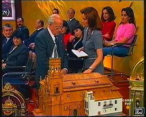 Maestro carpintero Alfonso Zafra
