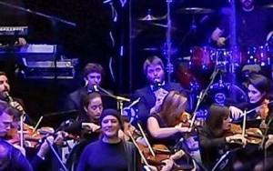 David Gómez y Daniel Martínez al fondo al clarinete