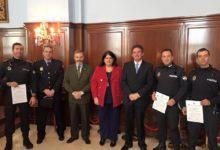 Photo of Tres Policías Locales reciben sus Diplomas de Formación Vial