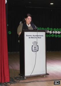 La Alcaldesa Mª del Mar Dávila